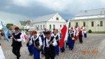 Chór ˝Cantilena˝ oraz Zespół Ludowy ˝Małkinianka˝ na Dniach Kultury Polskiej na Laudzie iŻmudzi