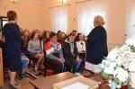 Najlepsi uczniowie isportowcy szkół gminnych zwizytą wUrzędzie Gminy