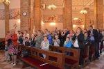 Uroczysty koncert Gminnego Chóru Dziecięcego zokazji XVIII Dnia Papieskiego wMałkini Górnej